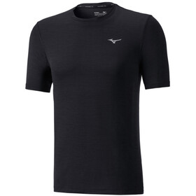 Mizuno Impulse Core Hardloopshirt korte mouwen Heren, black
